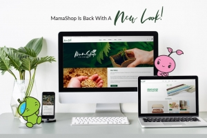 MamaShop Is Back With A New Look!