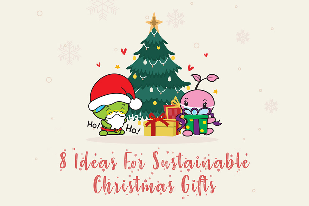 8 Ideas for Sustainable Christmas Gifts